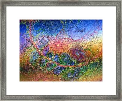 Framed Print featuring the digital art Impressionist Dreams 1 by Casey Kotas
