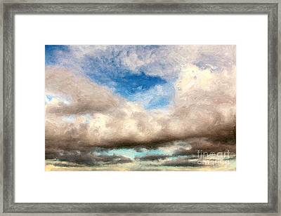 Impressionist Landscape Paintings Framed Print by Boon Mee