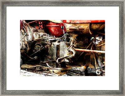 Impressionist Tractor Series 2 Framed Print
