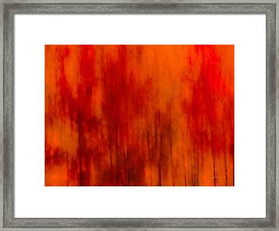 Impressionistic Autumn 2 Framed Print