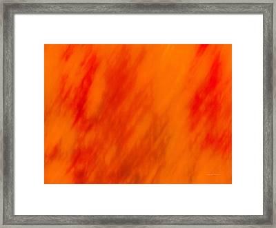 Impressionistic Autumn 5 Framed Print