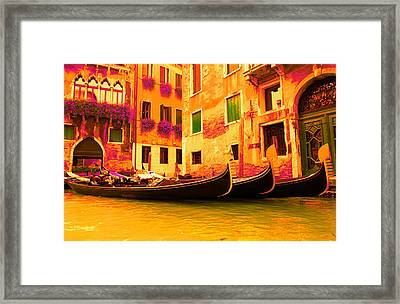 Impressionistic Photo Paint Gs 007 Framed Print by Catf
