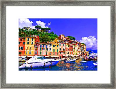 Impressionistic Photo Paint Gs 012 Framed Print by Catf