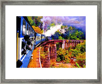 Impressionistic Photo Paint Gs 016 Framed Print by Catf
