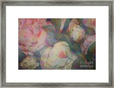 Framed Print featuring the photograph Impressionistic Spring Bouquet by Dora Sofia Caputo Photographic Art and Design