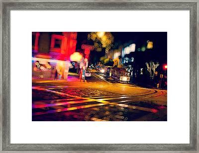 Urban Impressions 2 Framed Print