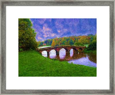 Impressions Of Stourhead Framed Print