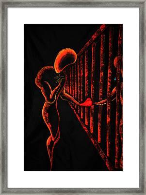 Imprisoned Love Framed Print