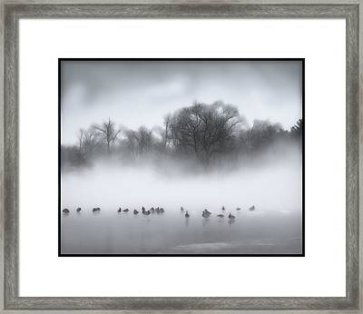Improving Weather Framed Print by Kellice Swaggerty