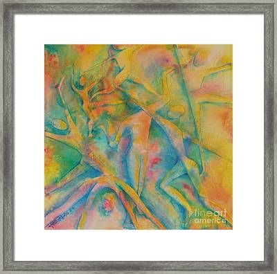 Improvisation Framed Print by Jaswant Khalsa