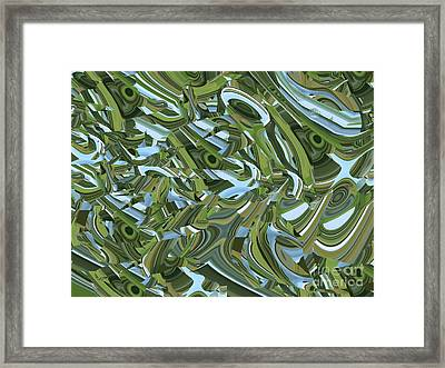 Impure Demonstration Of Purity Framed Print by Paula Andrea Pyle