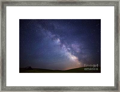 In A Blink Of An Eye Framed Print by Beve Brown-Clark Photography