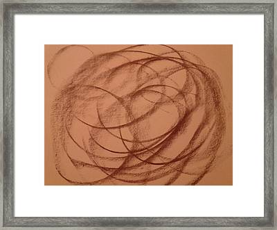 In A Different World Framed Print by Erica  Darknell