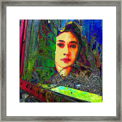 Framed Print featuring the digital art In A Gadda Da Vida by Mojo Mendiola
