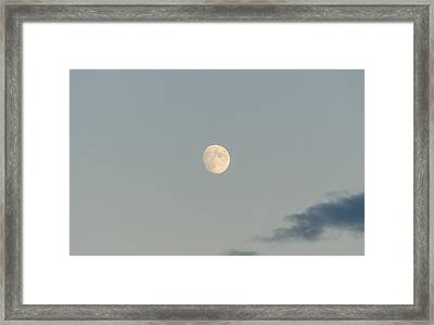 In A Pale Moon's Shadow Framed Print by Andrea Mazzocchetti