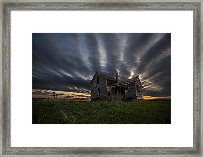 In A Past Life Framed Print