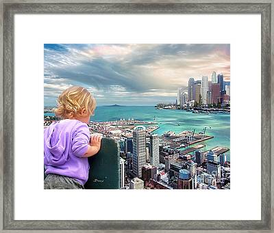In A Perfect World? Framed Print by Jennie Breeze