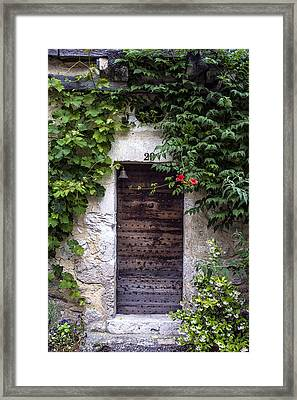 In A Small French Town Framed Print