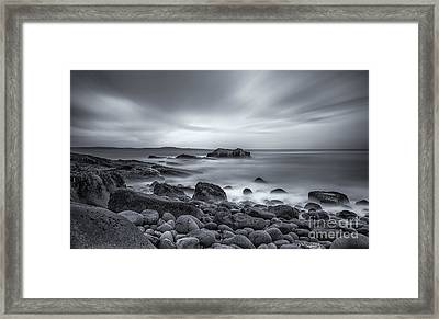 In A Tidal Wave Of Mystery Framed Print by Evelina Kremsdorf