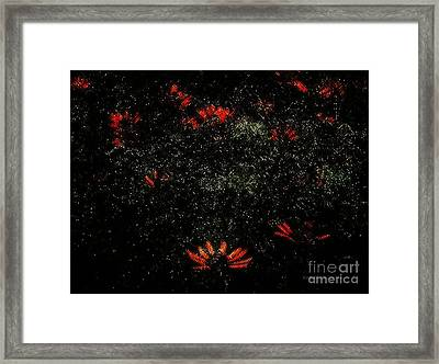 In A Twinkling Framed Print