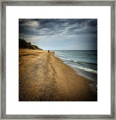 In All Things You Do Consider The End Framed Print by Jeff Burton
