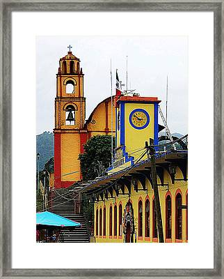 Framed Print featuring the photograph In Amixtlan by Joy Nichols