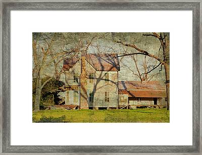 In An Ocean Of Fading Colors Framed Print by Jan Amiss Photography