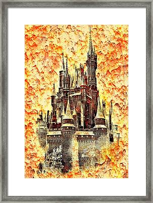 In Another Realm Framed Print by Steve Harrington