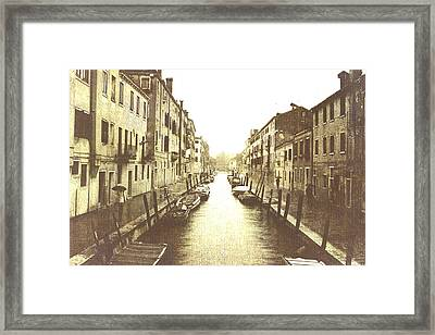 In Another Time  Framed Print by Steven  Taylor