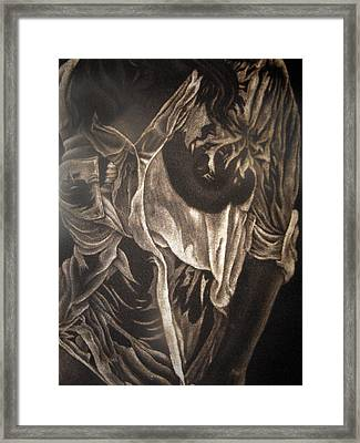 In Answer To Phidias Framed Print by Larry Edwards