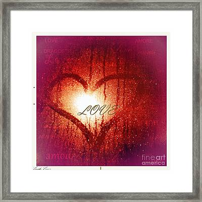 In Any Language The Emotion Is The Same Framed Print