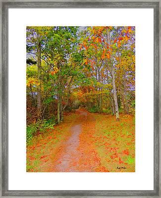In Beauty I Walk Framed Print