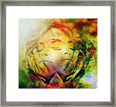 In Between Dreams Framed Print by Ally  White