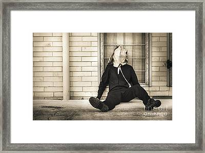 In Bliss Of Ignorance Framed Print by Jorgo Photography - Wall Art Gallery