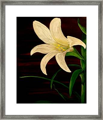 In Bloom Framed Print by Mark Moore