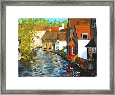 In Bruges Framed Print