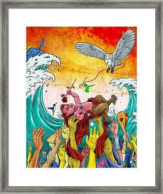 In Celebration Of Framed Print by Baird Hoffmire