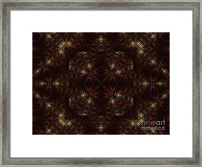 Framed Print featuring the digital art In Childlike Wonder by Roxy Riou