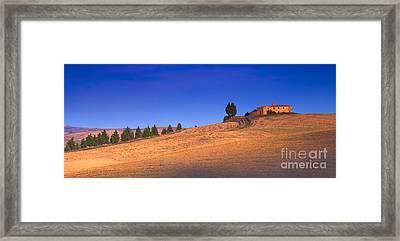 In Cima Framed Print by Marco Crupi