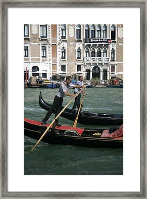 In Competition Framed Print