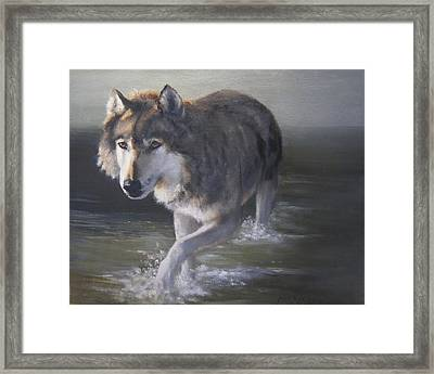 In Controversial Waters  Framed Print by Mar Evers
