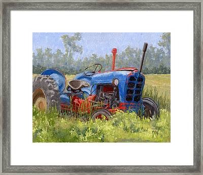 In Da Weeds Framed Print by David King