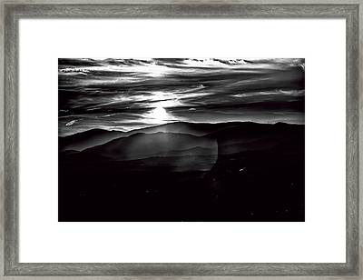 In Darkness Light Framed Print by Joshua Minso