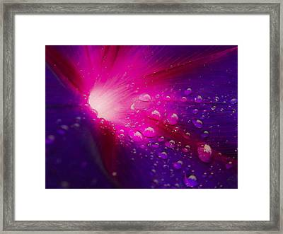 In Deep Space Framed Print