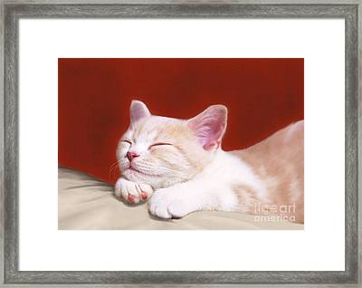 In A Dream Framed Print by Aiolos Greek Collections