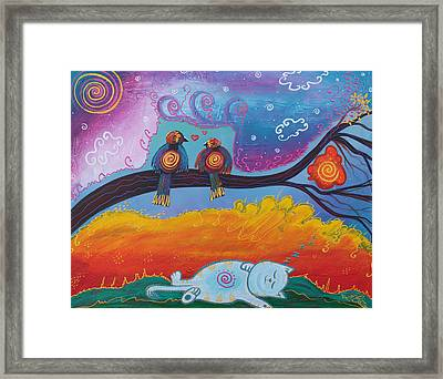 In Dreams Framed Print