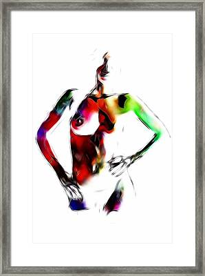In Electric Dreams Framed Print