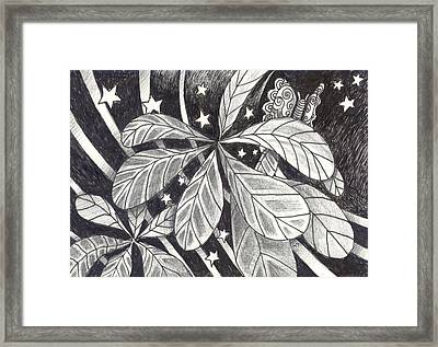 In Endless Ways Framed Print by Helena Tiainen