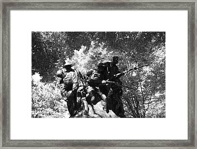 In Flanders Fields Framed Print by David Bearden