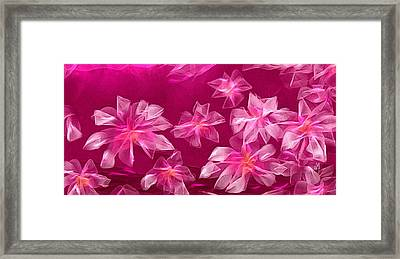 In Flower Framed Print